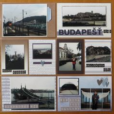 The trip to Budapest means plenty of photos to be documented on plenty of pages. Budapest, Gallery Wall, Pocket, Bag