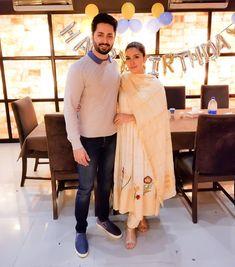 Ayeza Khan and Danish taimoor Indian Bridal Outfits, Indian Party Wear, Pakistani Outfits, Indian Dresses, Embroidery Suits Punjabi, Embroidery Suits Design, Designer Punjabi Suits, Indian Designer Wear, Velvet Dress Designs