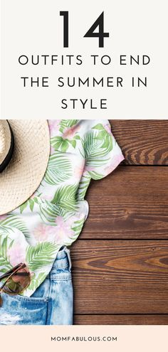 How is it already August? This summer has really flown by, right? Now that fall is just around the corner, it's time to start considering what to wear in August and the coming transitional months. Ready to get shopping? Here are 14 of our favorite outfits to help you end out the summer season in the utmost style. Summer Outfits For Moms, Mom Outfits, Fashion Outfits, Travel Outfits, Fashion Trends, Fashion Tips For Women, Womens Fashion, Mom Fashion, Spring Fashion
