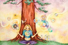 Los Decretos son afirmaciones que provienen de la Energía Divina Universal, de la Fuente. Son palabras con una frecuencia vibratoria muy elevada...