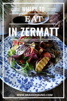 Discover where you can enjoy vegan, vegetarian and gluten free dishes in the ski village of Zermatt, Switzerland. Click to learn more. #lunch #dinner #zermatt #brasserieuno #travel Vegan Vegetarian, Vegetarian Recipes, Roasted Baby Potatoes, Sweet Corn Soup, Roasted Pear, Tasting Menu, Roasted Peppers, Zermatt, Dinner Menu