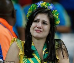 Brazil vs Germany World Cup 2014: Heartbreaking photos http://www.ebay.com/itm/181475220096?ssPageName=STRK:MESELX:IT&_trksid=p3984.m1555.l2649