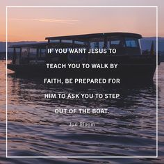 """So if we really want to follow Jesus if we really want to learn his ways (Psalm 27:11) if we really want 'to walk in a manner worthy of the Lord' (Colossians 1:10) which is to walk by faith and not by sight (2 Corinthians 5:7) how should we expect him to teach us? We should expect him to force us out of the classroom and on to the real field of spiritual battle where the conflict is much more chaotic disturbing disorienting frightening depressing and sorrowful than we ever expected. And we…"