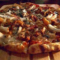 Vegetarian Rocket Man pizza
