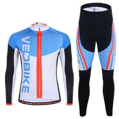 Sale 13% (43.45$) - Men And Women Cycling Clothing Suit Bicycle Bike Jersey Set Sportswear Suit Riding Clothes