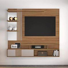 Modern Tv Unit Designs, Modern Tv Wall Units, Living Room Tv Unit Designs, Tv Unit Furniture Design, Tv Unit Interior Design, Tv Wall Design, Smart Home Design, Home Room Design, Tv Cupboard Design