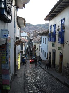 cusco, i used to live right off this street