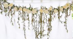 Hey, I found this really awesome Etsy listing at https://www.etsy.com/listing/240968121/wedding-arch-garland-with-cascading