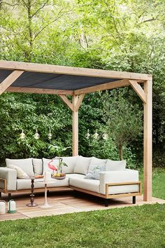 Precious Tips for Outdoor Gardens - Modern Outdoor Pergola, Backyard Pergola, Backyard Landscaping, Outdoor Spaces, Outdoor Living, Outdoor Decor, Rustic Gardens, Outdoor Gardens, Backyard Patio Designs