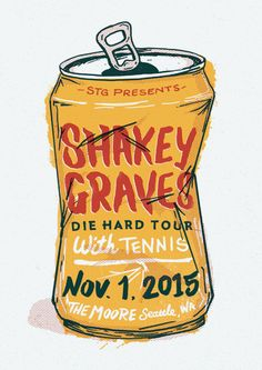 Shakey Graves - Tennis by Shed Labs