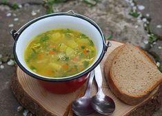 Polévka s pohankou a kopřivami recept - TopRecepty.cz Ethnic Recipes, Food, Essen, Meals, Yemek, Eten