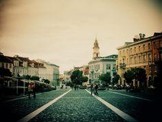 Vilnius Old town streets