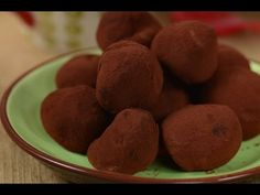 Milk Chocolate Truffles Recipe Demonstration - Joyofbaking.com - YouTube