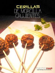 THE HITCHCOOK: CERILLAS DE MORCILLA CRUJIENTES (Fuego)