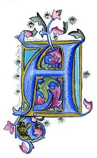 Ink Flourishes: The Year Long Alphabet Project