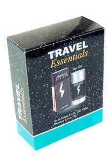 Animal by Parlux Fragrances for Men - 2 pc Gift Set 3.4oz edt spray,2.5 deodarant stick