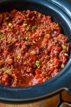 Easy Crock Pot Chili-20