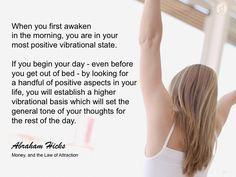 #abrahamhicks #vibrations #begin
