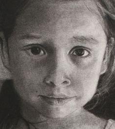 Detail of Chloe drawing.
