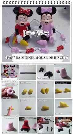 Minnie Mouse Topper Picture Tutorial
