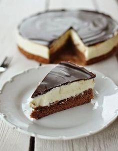 Tvarohový dort Míša Sweet Desserts, Sweet Recipes, Baking Recipes, Cake Recipes, Czech Recipes, Sweet Cakes, Sweet And Salty, Desert Recipes, My Favorite Food