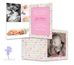 Baby- & Geburtskarten - Babykarte Geburtskarte Ilvy - ein Designerstück von Feenstaub-Papeterie bei DaWanda