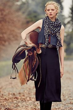 Very cool cropped jumpsuit! I like this look for weekends #anthrofave #anthropologie