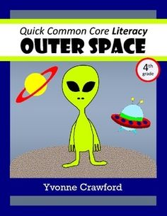 Space Quick Common Core Literacy (4th grade) $