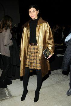 Giovanna Battaglia - Giulietta - Front Row - Fall 2013 Mercedes-Benz Fashion Week