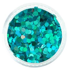 Blue Green Ocean Spray Holographic Jewel Hexagon Glitter – Solvent Resistant Glitter from Glitties Nail Art Online Store Bulk Glitter, Green Glitter, Cosmetic Grade Glitter, Green Ocean, Holographic Glitter, Art Online, Gel Polish, Teal Blue, Blue Green