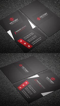 Corporate Business Card #businesscards #businesscardtemplates #printready #corporatedesign