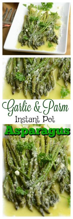 Garlic and Parm Instant Pot Asparagus - Adventures of a Nurse fast keto recipes;keto recipes to try; Power Pressure Cooker, Instant Pot Pressure Cooker, Pressure Pot, Cooker Recipes, Keto Recipes, Healthy Recipes, Ketogenic Recipes, Healthy Foods, Healthy Eating