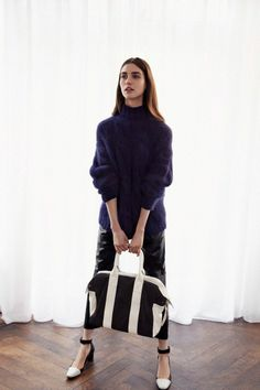 Whistles AW13 Campaign, Photographed by Cass Bird, Model: Manon Leloup