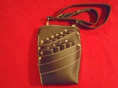 Shear Holster--Black leather---great for hair stylist and pet groomers-Free shipping