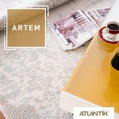 Kahve keyfinize eşlik edecek şıklık gün boyunca sizlerle birlikte. www.atlantikhali.com