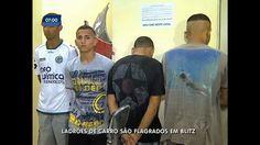Quadrilha de roubo de carros é flagrada em blitz na zona norte do Rio - Vídeos - R7