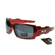 b2a659c115f Cheap Oakley Oil Rig Sunglasses smoky lens red frames sale on oakley outlet.