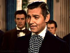 "Clark Gable disliked his participation in Gone With The Wind, which he considered ""a womans picture""."