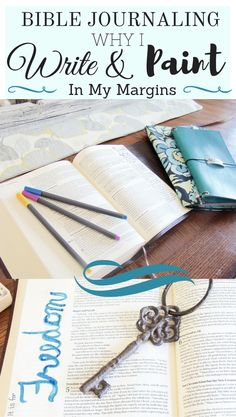 Bible Journaling Why I Write and Paint in my Margins