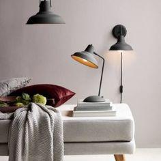 Lekre vegglamper « Helgevold Gruppen Desk Lamp, Table Lamp, Nordic Home, Light Of My Life, Vintage Lamps, Danish Design, Scandinavian Style, Rust, Lighting