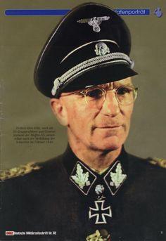 SS-Obergruppenführer und General der Waffen-SS Herbert-Otto Gille gehörte zu denGenies der Abwehrkämpfe gegen die heranbrandende Rote Armee. Mit viel Geschick,Kreativität und der Gabe, seine Männer zu motivieren, vollbrachte er an der Front wahreWunder. Nach dem Krieg engagierte er sich für die Gleichstellung der ehemaligenAngehörigen der Waffen-SS mit den Soldaten der Wehrmacht.