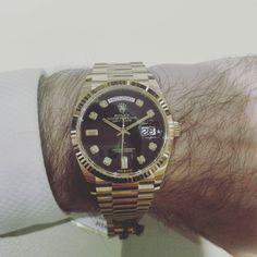 Gold Rolex, Gold Watch, Omega Watch, Watches, Luxury, Instagram, Wrist Watches, Tag Watches, Watch