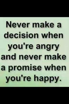 Never make...