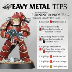 """3,334 tykkäystä, 111 kommenttia - Games Workshop Community Team (@warhammerofficial) Instagramissa: """"In the first of a new series exclusive to Instagram, we get top tips from the 'Eavy Metal team on…"""""""