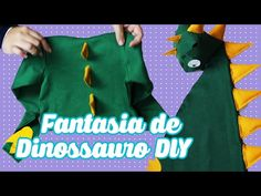 Como Fazer cauda de Dinossauro Infantil - Fantasia Fácil e Barata - YouTube