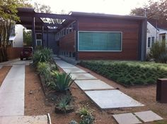 Modern Front Yard Landscape Design Ideas, Pictures, Remodel, and Decor
