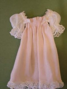 Faux Shirred Nightgown tutorial