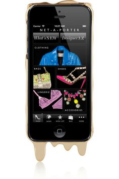 Gold Melts iPhone 5 cover by Marc by Marc Jacobs. #iphone5
