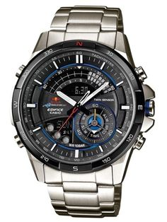 7505369463b Relógio CASIO EDIFICE RED BULL RACING - ERA-200RB-1AER Relogio Casio  Edifice