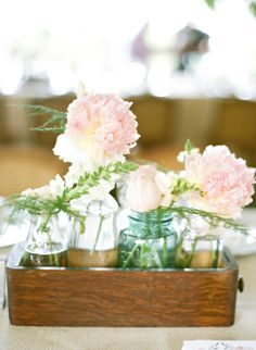 Blush Peonies and Roses | Sweet Tea Photography | TheKnot.com